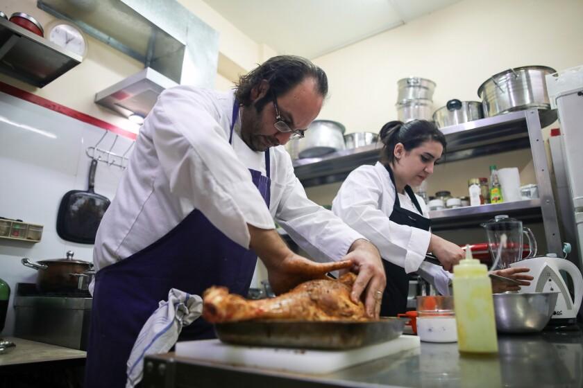 Fawda restaurant in Bethlehem