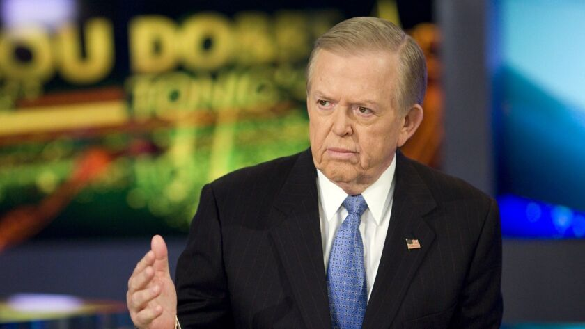 "Lou Dobbs is the host of ""Lou Dobbs Tonight"" on the Fox Business Network."