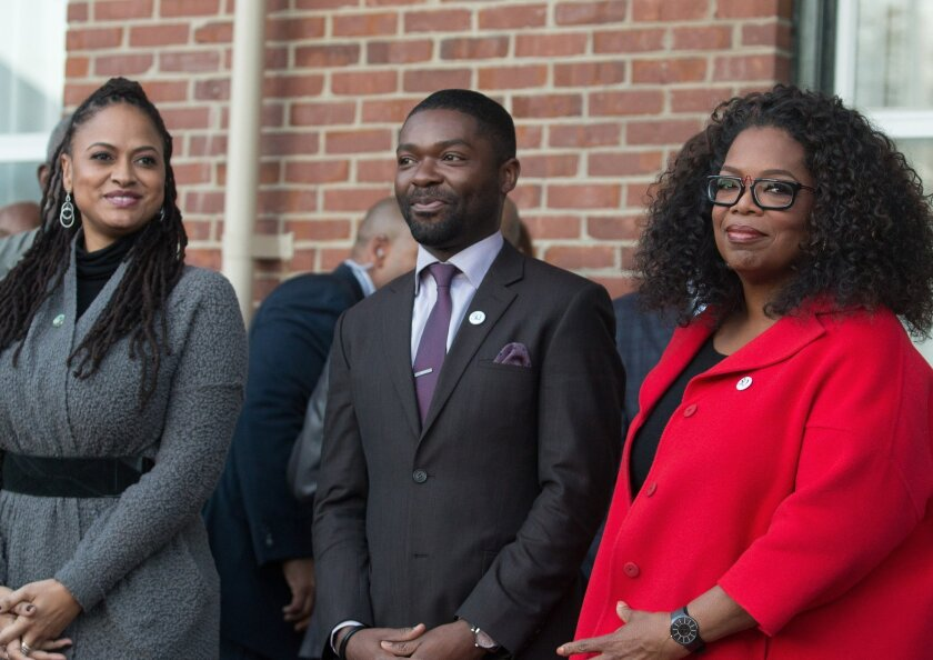 """""""Selma"""" Cast And Director Commemorate The Life Of Dr. Martin Luther King, Jr."""
