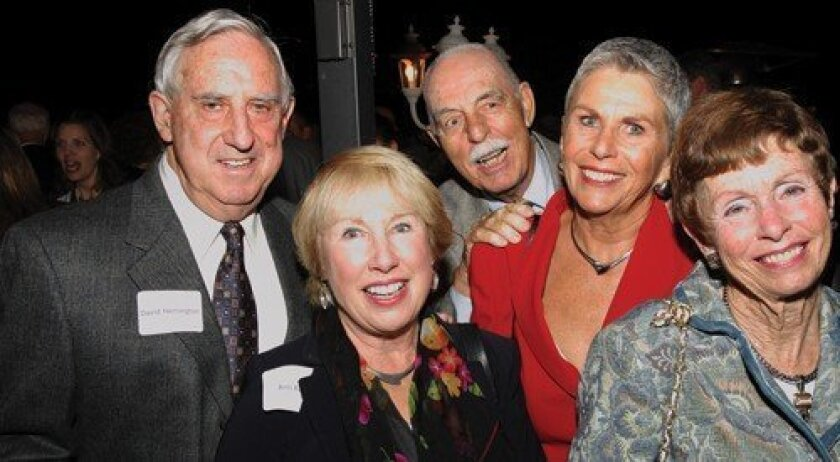 David Herrington, Ann Rible, Harry and Ginger Bord, Nancy Herrington (Photo: Jon Clark)