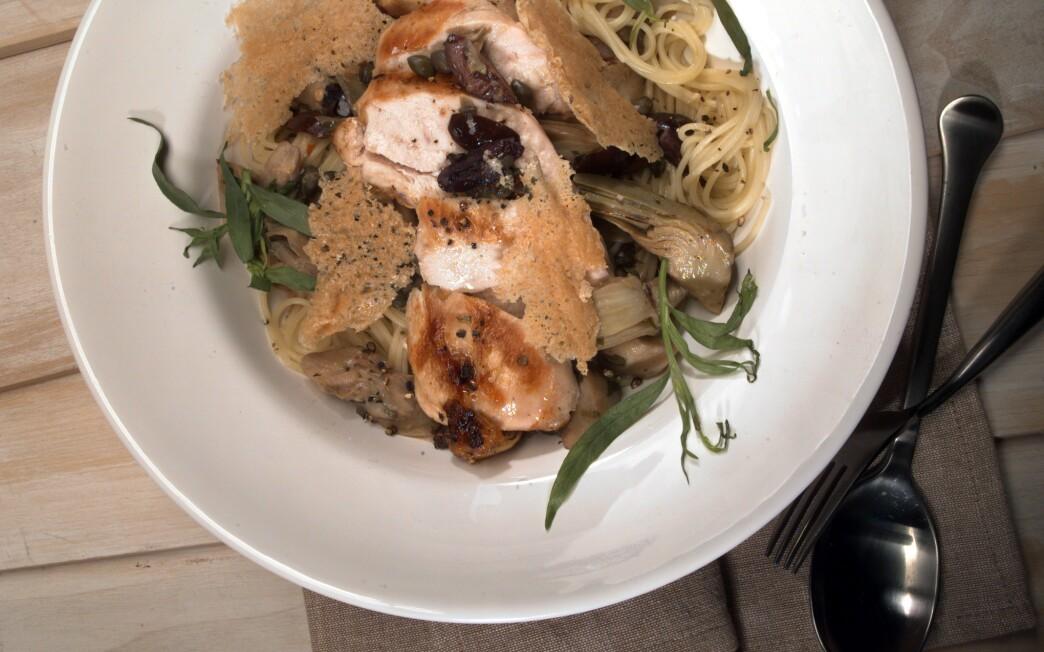 Mediterranean Chicken and Capers