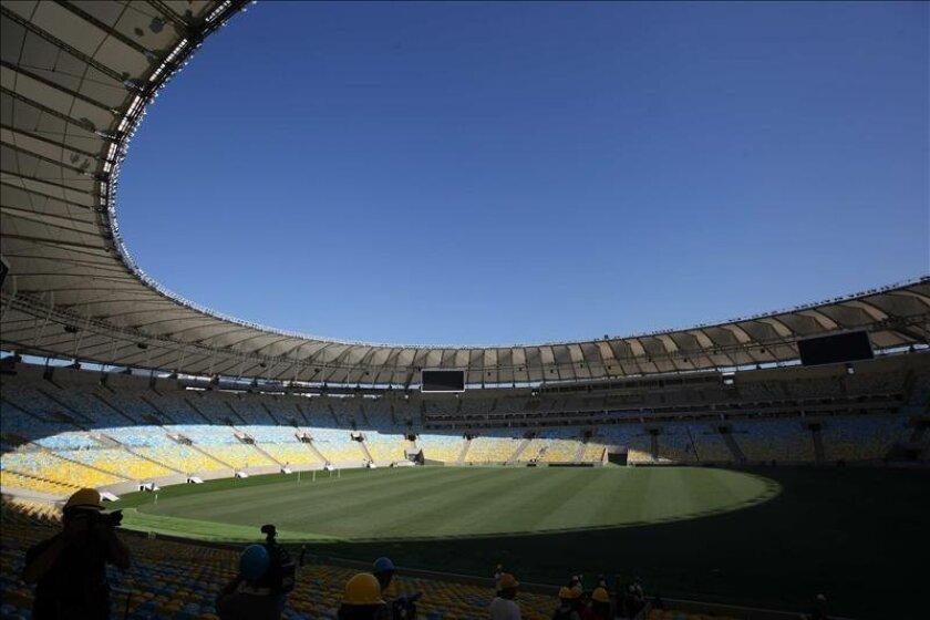 Vista general del estadio Maracaná en Río de Janeiro (Brasil). EFE/Archivo