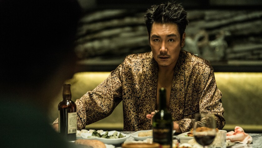"""Cho Jun-woong in the movie """"Believer."""""""