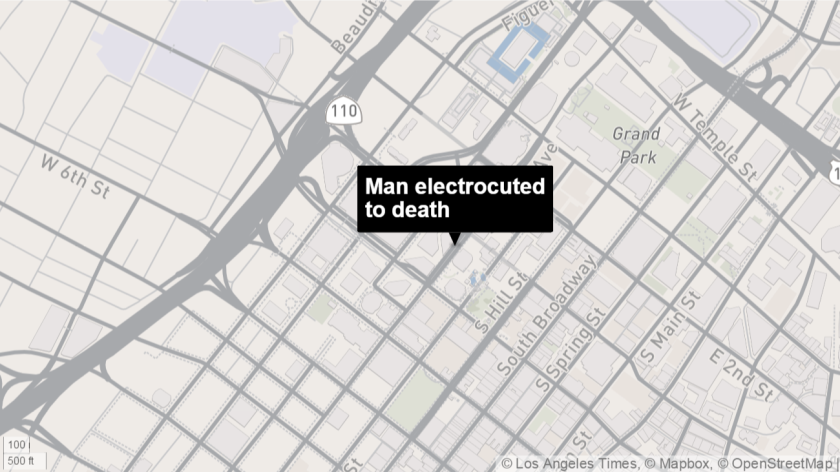 Man electrocuted to death