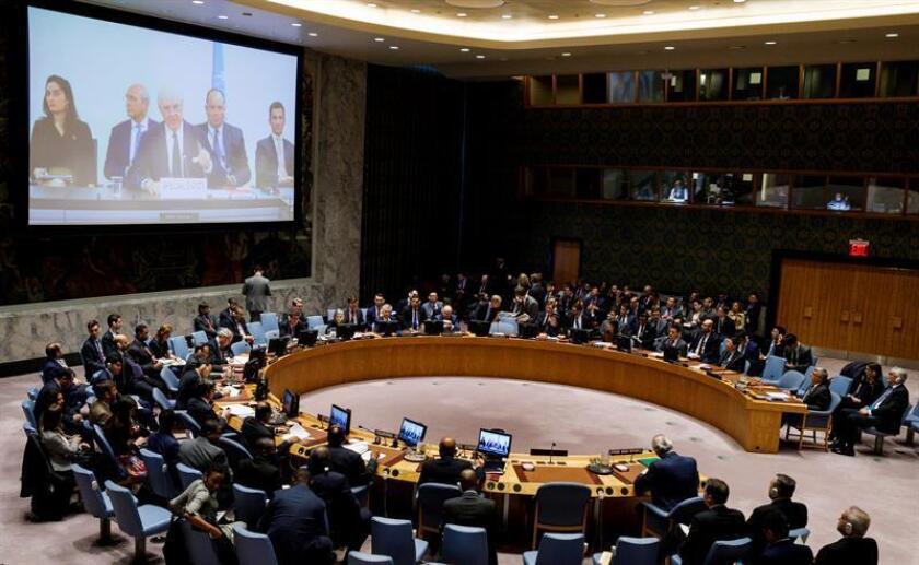 La ONU advirtió hoy de que la ofensiva del Gobierno sirio en el suroeste del país puede desencadenar una situación incluso más dramática que las vividas en Alepo o Guta Oriental. EFE/Archivo