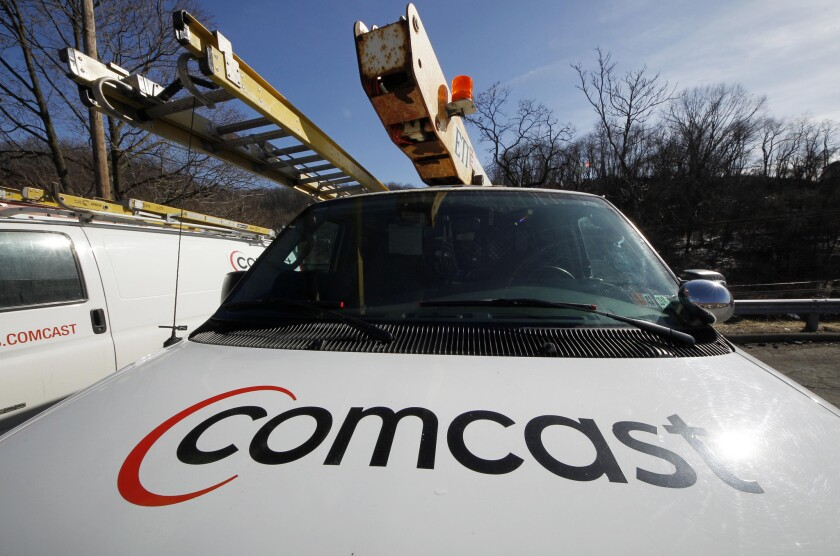 The proposed merger of Comcast and Time Warner Cable is pending before the Federal Communications Commission.