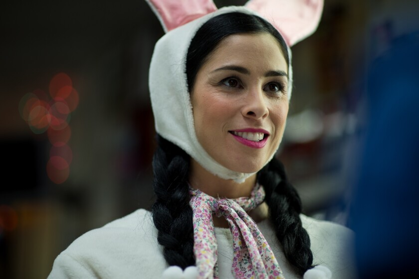 "Sarah Silverman in a scene from the movie ""Gravy."""
