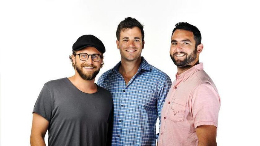 RAD Lab's team, from left, Chief Creative Officer Jason Grauten, Chief Executive Officer Philip Auchettl and Chief Operating Officer David Loewenstein. (Rick Nocon)