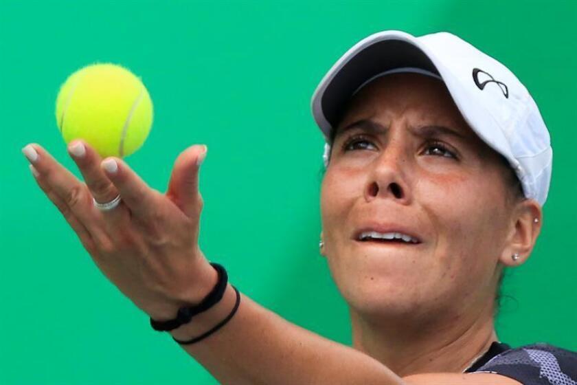 En la imagen, la tenista mexicana Giuliana Olmos. EFE/Archivo