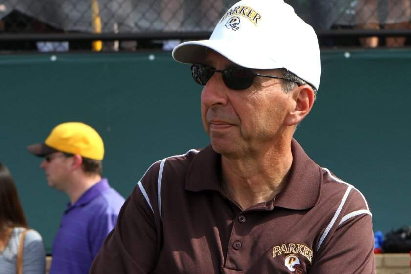 John Morrison has coached football at Francis Parker for 18 years.