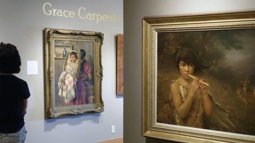 Ukiah CA ? July 24: The Grace Hudson Museum exhibits portraits of Pomo Native Americans painted by e