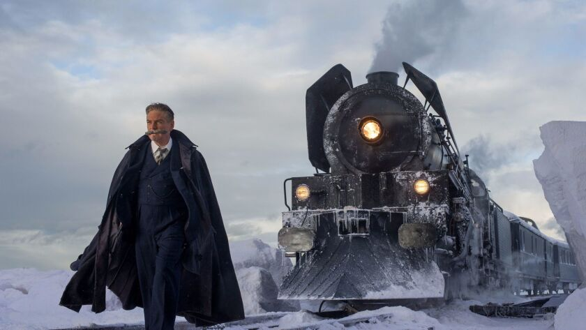 """Kenneth Branagh stars in in the movie """"Murder on the Orient Express."""""""