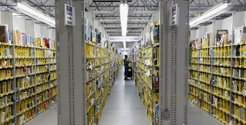 Amazon has told suppliers that it would stop accepting shipments of nonessential goods in its warehouses, an effort to keep things such as food and cleaning supplies moving through the system.
