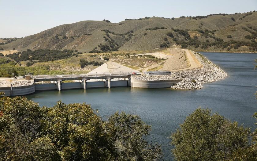 Cachuma Reservoir supplies water to Santa Barbara County's south coast.