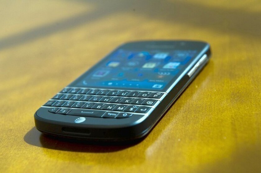 """Jabil Circuit, a Florida provider of electronics manufacturing services, said this week that it would """"wind down"""" its relationship with BlackBerry."""