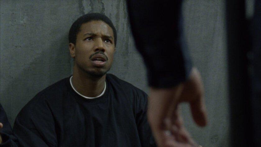 """Michael B. Jordan in """"Fruitvale."""""""