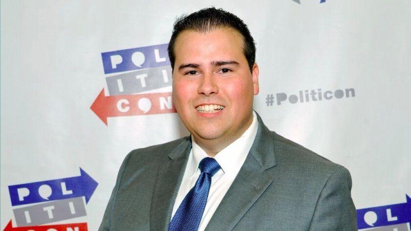 Omar Navarro at Politicon at Pasadena Convention Center on July 29, 2017