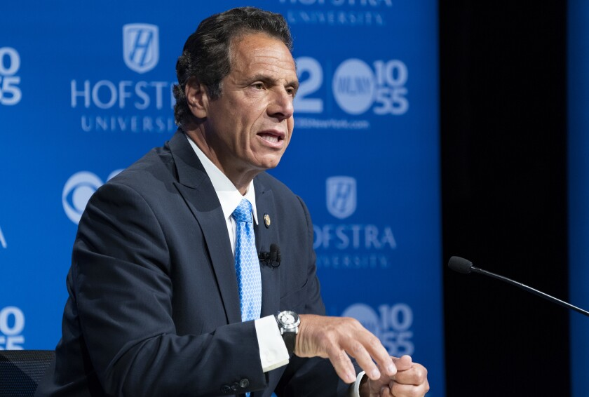 In the face of the Brett Kavanaugh Supreme Court confirmation vote, Gov. Cuomo (pictured) on Friday said the state will quickly act to strength New York's abortion laws if the Democrats win control of the state Senate.