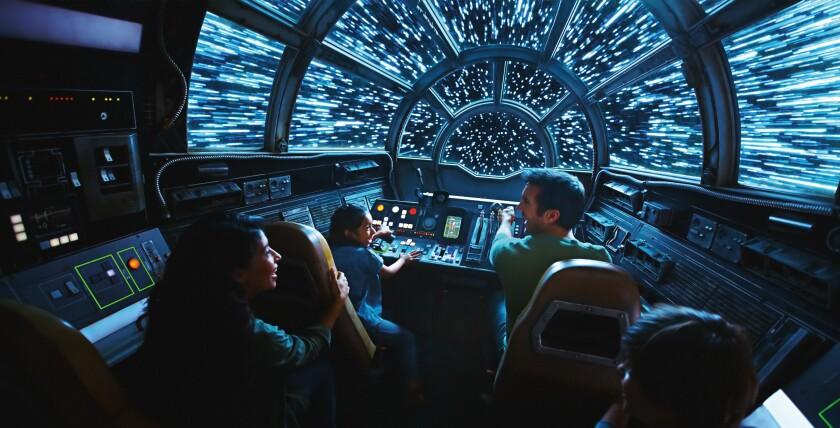 Star Wars: GalaxyÕs Edge Ð Millennium Falcon: Smugglers Run