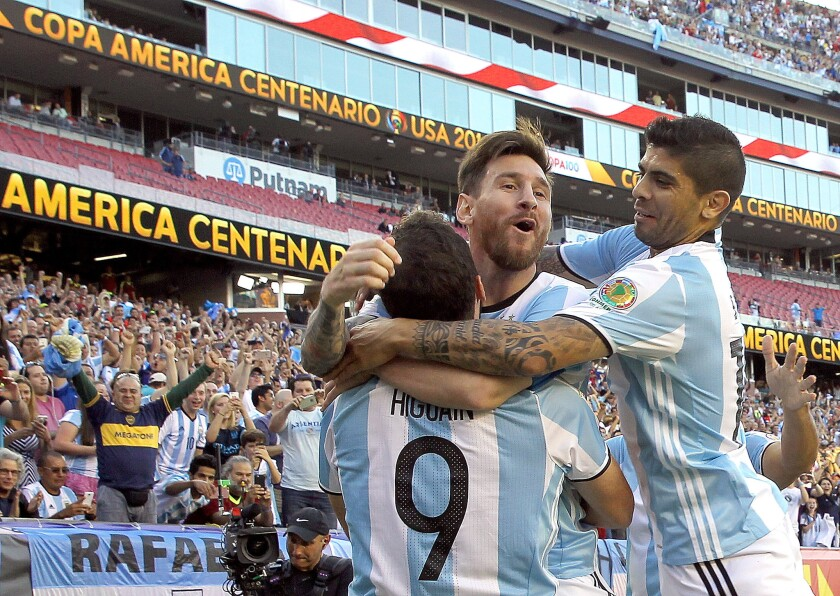 U.S. isn't intimidated by Messi, Argentina