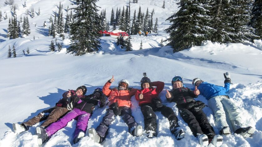 Girl powder: How heli-skiing became a sport for me too