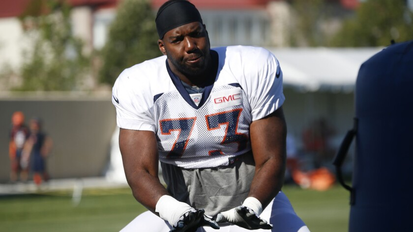 Offensive lineman Russell Okung agreed to a four-year deal with the Chargers worth $50 million this offseason.