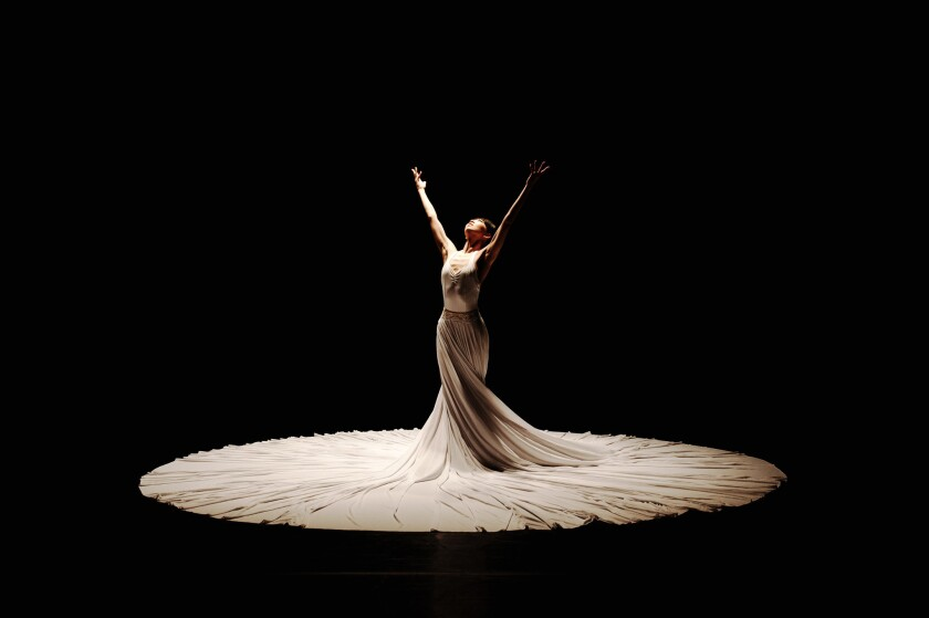 """""""The Calling"""" by the Jessica Lang Dance company."""