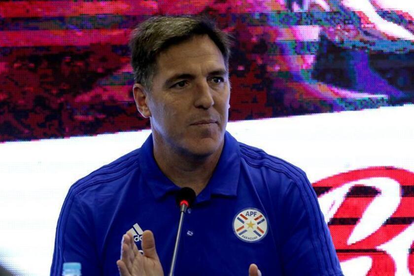 En la imagen, el entrenador argentino Eduardo Berizzo. EFE/Archivo