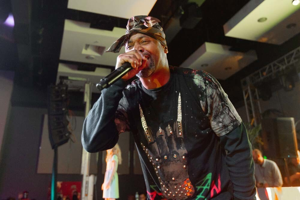 The Gaslamp's largest indoor/outdoor Halloween party, 2018: A Halloween Odyssey, featuring headliners Juvenile and Jadakiss, returned to the Hard Rock Hotel San Diego on Saturday, Oct. 27, 2018.