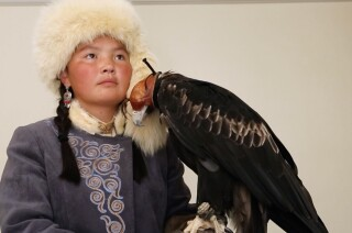 Meet Aisholpan, the 15-year-old star of 'The Eagle Huntress'