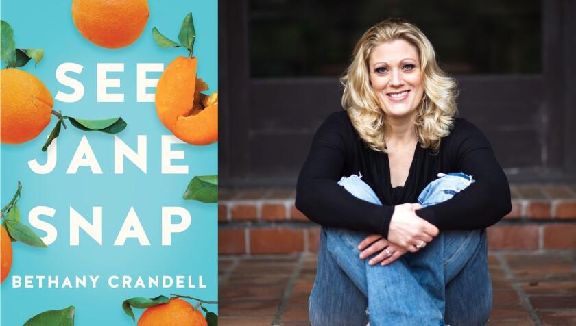 "La Mesa author Bethany Crandell and her novel, ""See Jane Snap."""