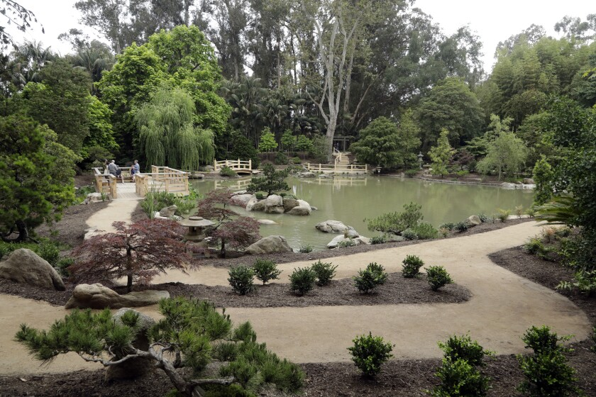 Upgrades to the popular Japanese garden at Lotusland in Montecito include ADA-accessible paths.