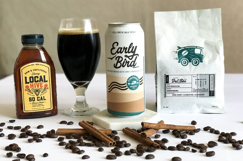 Coronado Brewing Company pairs with Bird Rock Coffee Roasters to make Early Bird Cold Brew.