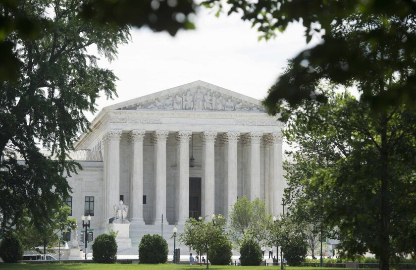 The U.S. Supreme Court building in Washington, D.C. The court upheld Thursday the reach of a federal law that forbids racial discrimination in housing.