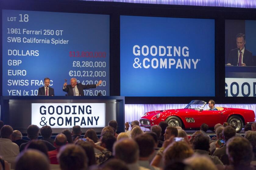 Gooding & Co. Pebble Beach auction