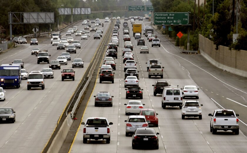 Pollution from vehicles remains a problem for California in its attempts to meet strict goals for curbing greenhouse gases.