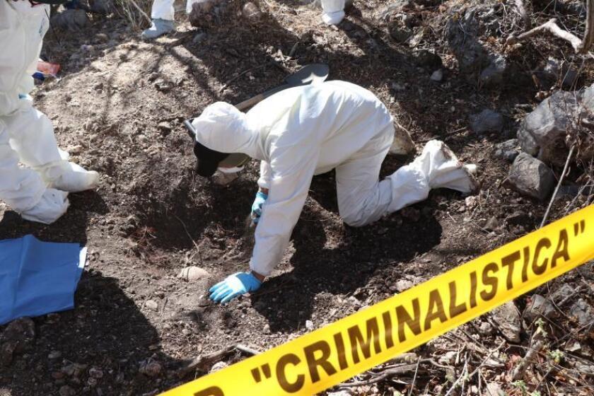 Elevan a 27 los cuerpos encontrados en 19 fosas en el norte de México