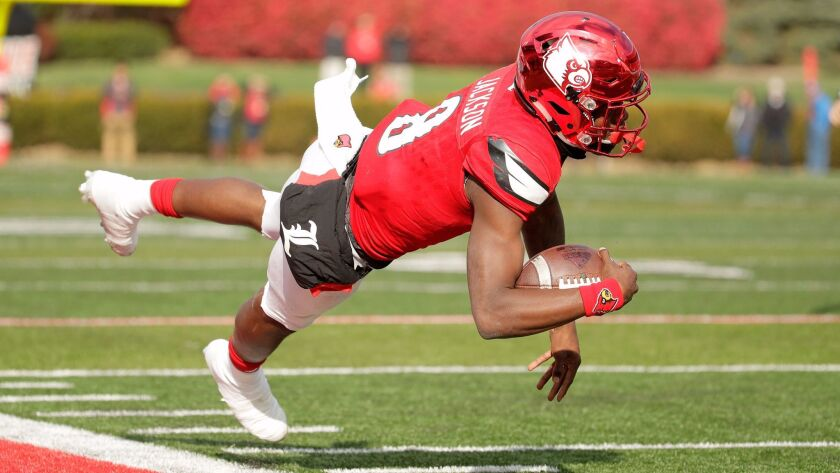 Louisville quarterback Lamar Jackson, despite a personal and team late-season slump, is going to win the Heisman Trophy, probably by mandate.