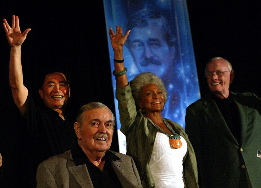 Nichelle Nichols, 'Star Trek's' Uhura, in good spirits after stroke