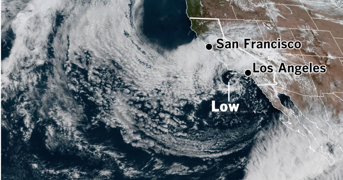Κρύο ανώτερο χαμηλό θα κάνει μια θηλιά στο Λας Βέγκας, στη συνέχεια, να επιστρέψετε στην Νότια Καλιφόρνια