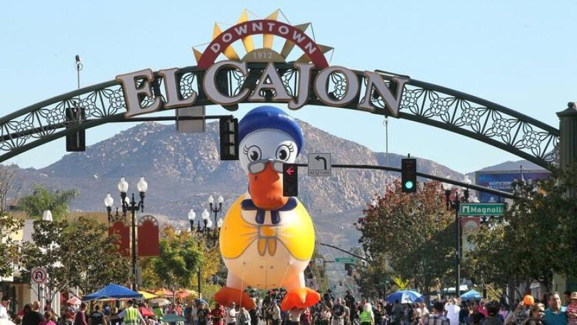 The Mother Goose Parade is an El Cajon staple. The 70th annual event will be Nov. 20.
