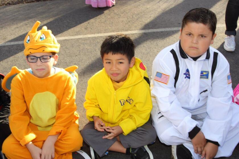 Solana Ranch Halloween Parade