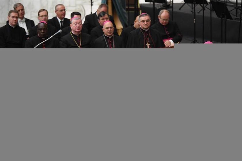 El papa Francisco toma la palabra durante una audiencia. EFE/Archivo