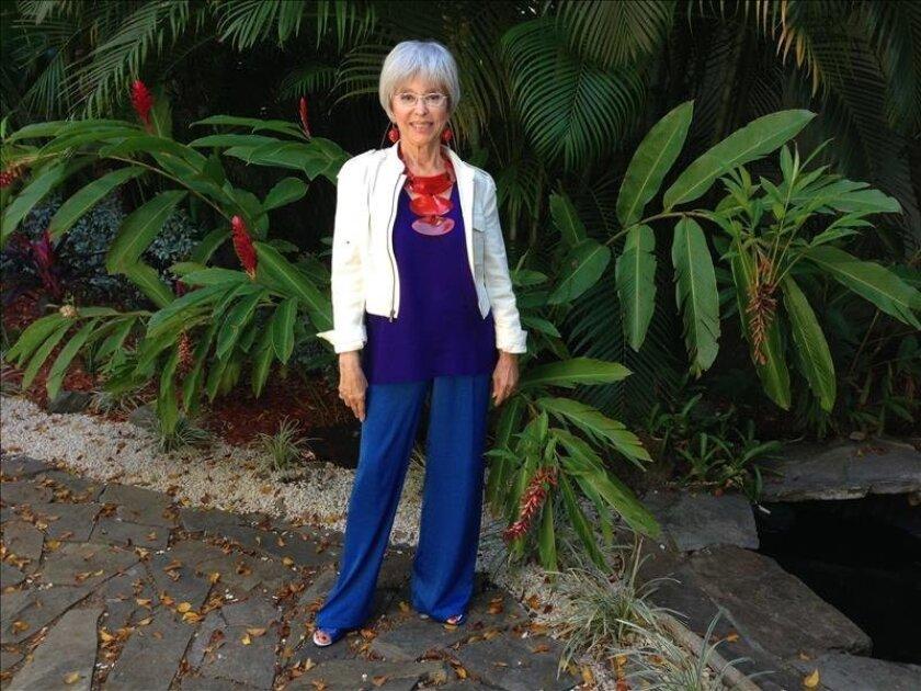 """Fotografía tomada el pasado 30 de septiembre en la que se registró a la cantante y actriz puertorriqueña Rita Moreno quien recibirá el premio """"Legado"""" durante la gala de la tercera edición de los premios La Musa. EFE/Archivo"""