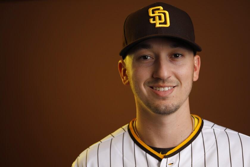 San Diego Padres pitcher Zach Davies.