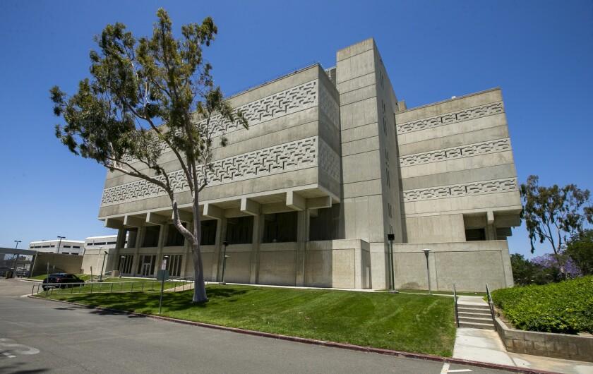 Orange County jail is located at 550 N. Flower St. in Santa Ana.