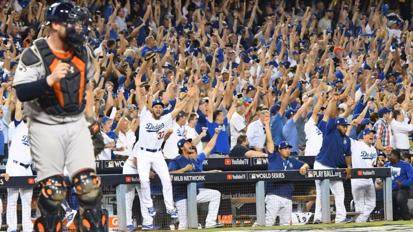 The Dodgers used a pair of home runs to beat the Astros 3-1 Tuesday in Game 1 of the World Series at Dodger Stadium. Up next: Houston ace Justin Verlander.