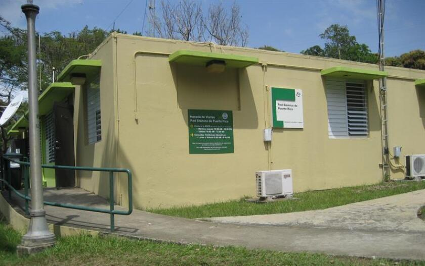 Fotografía cedida del edificio de la Red Sísmica de Puerto Rico, en San Juan. EFE/SOLO USO EDITORIAL - NO VENTAS