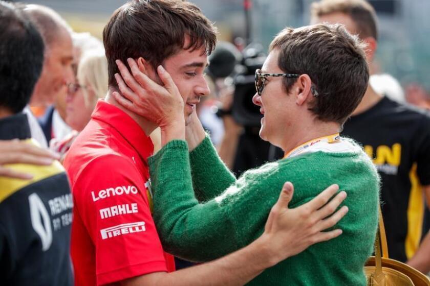 "Leclerc: ""Este triunfo se lo dedico a Anthoine (Hubert)"""