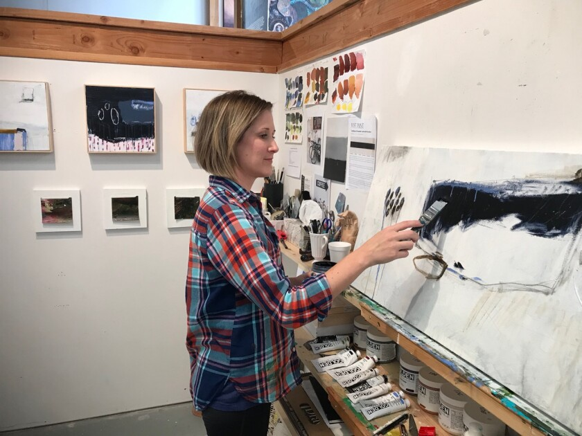 Artist Kristen Ide combines her passion for art and bikes in the upcoming Pedals for the People